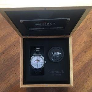 Gomelsky Moon Phase 36MM Shinola Watch
